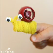 Snail-Finger-Puppets