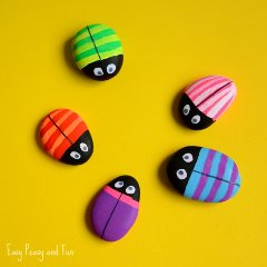 Bug-Painted-Rocks-Craft