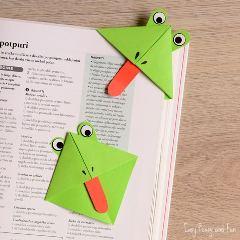Frog-Origami-Corner-Bookmarks