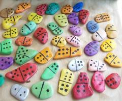 painted number dominoes4