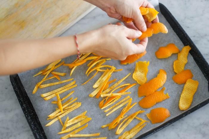 Five Uses For Dried Orange Peel, & How to Make Dried Orange Peel