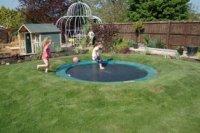 How to create a sunken trampoline | Little Green Fingers