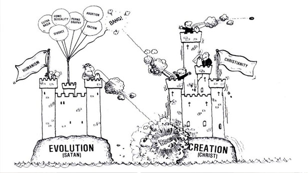 Freshman Biology Students Learn That Evolution Is Satanic