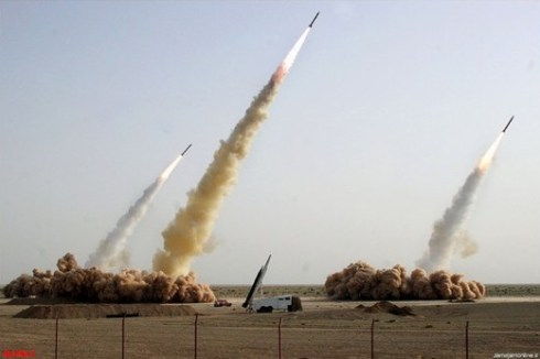 Fake missile launch