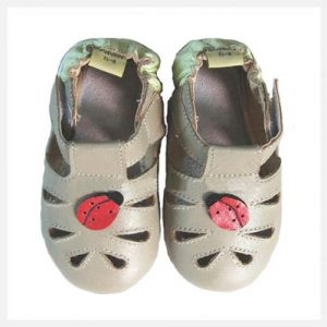 Softies-Ladybird-soft-sole-sandal