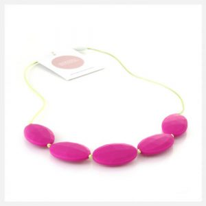 Harper+Hudson-Oliver-Raspberry-Lime-Teething-Beads