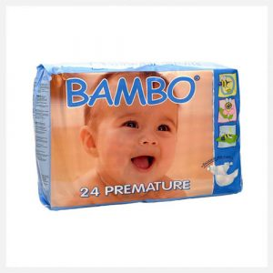 Bambo Nature Eco-Disposable Nappies Premature 1-3 kgs size 0