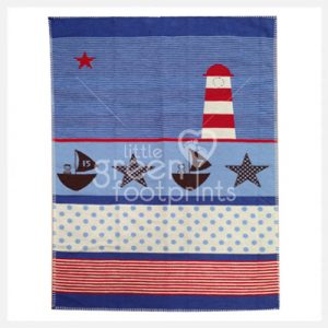 David Fussenegger - Bassinet Blanket - Lighthouse Lena - Side 2