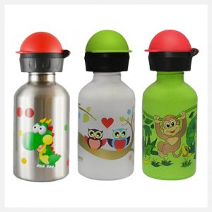 Cheeki Stainless Steel Single Wall Bottles 350ml