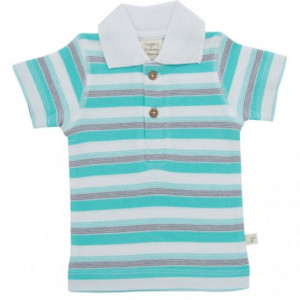 Space stripes Polo Tee