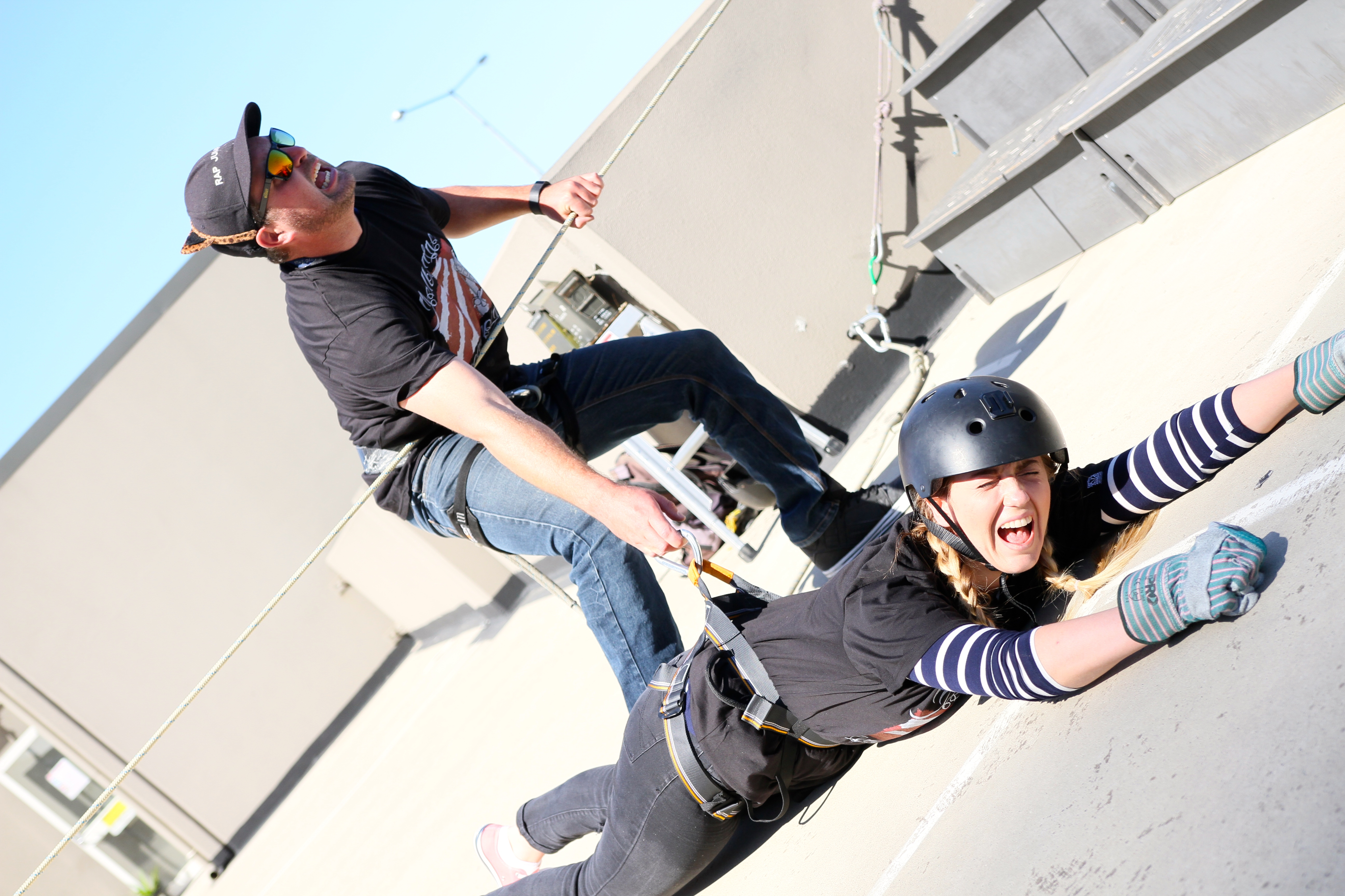 Why You Should Abseil Face First Off The Top Of A Building