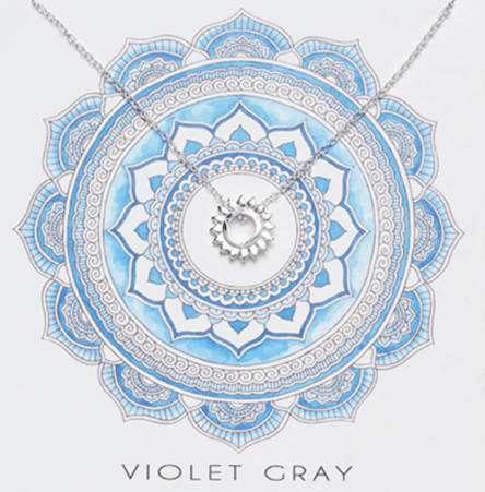 Chakra necklace from Violet Gray