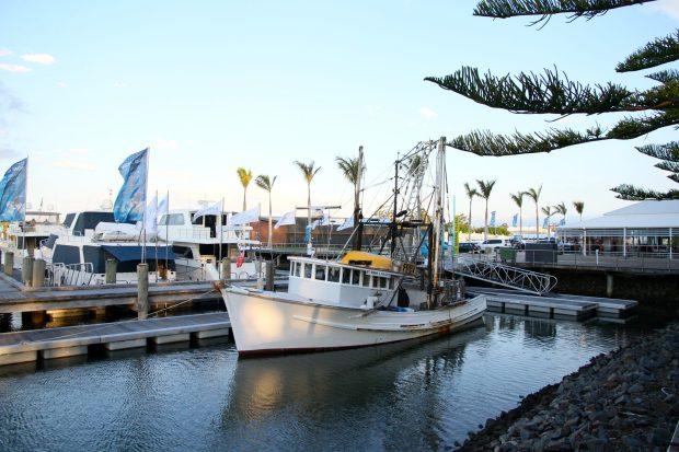 Boat at Marina