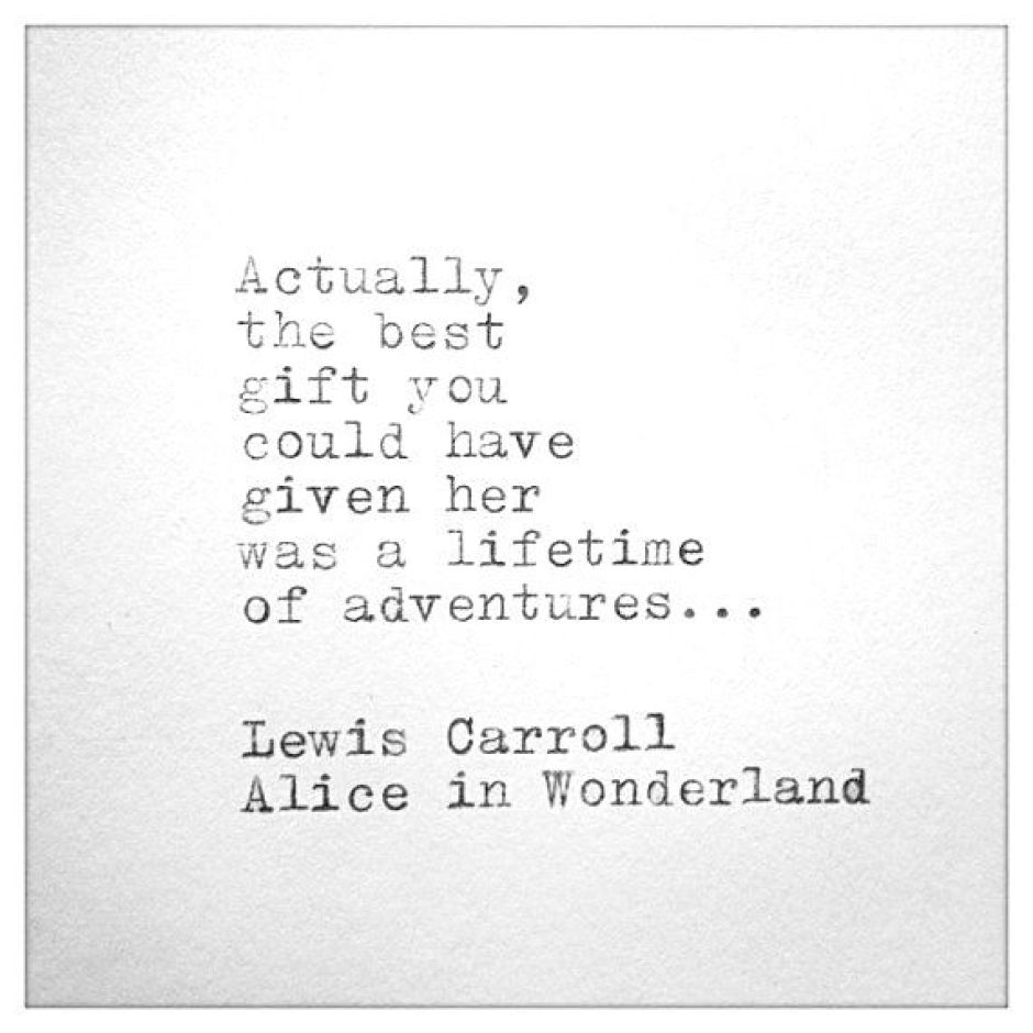 Lewis Carroll Quote