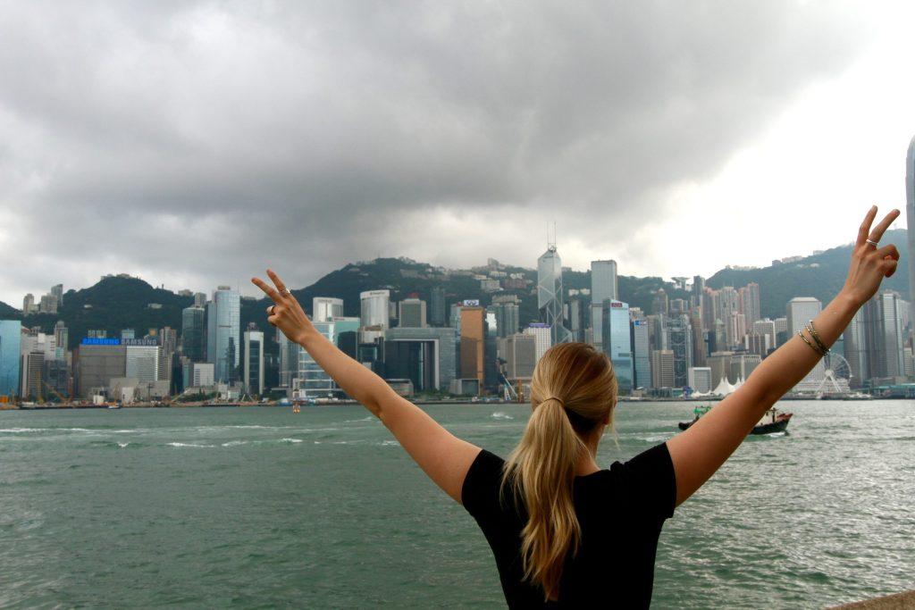 Phoebe Lee in Hong Kong