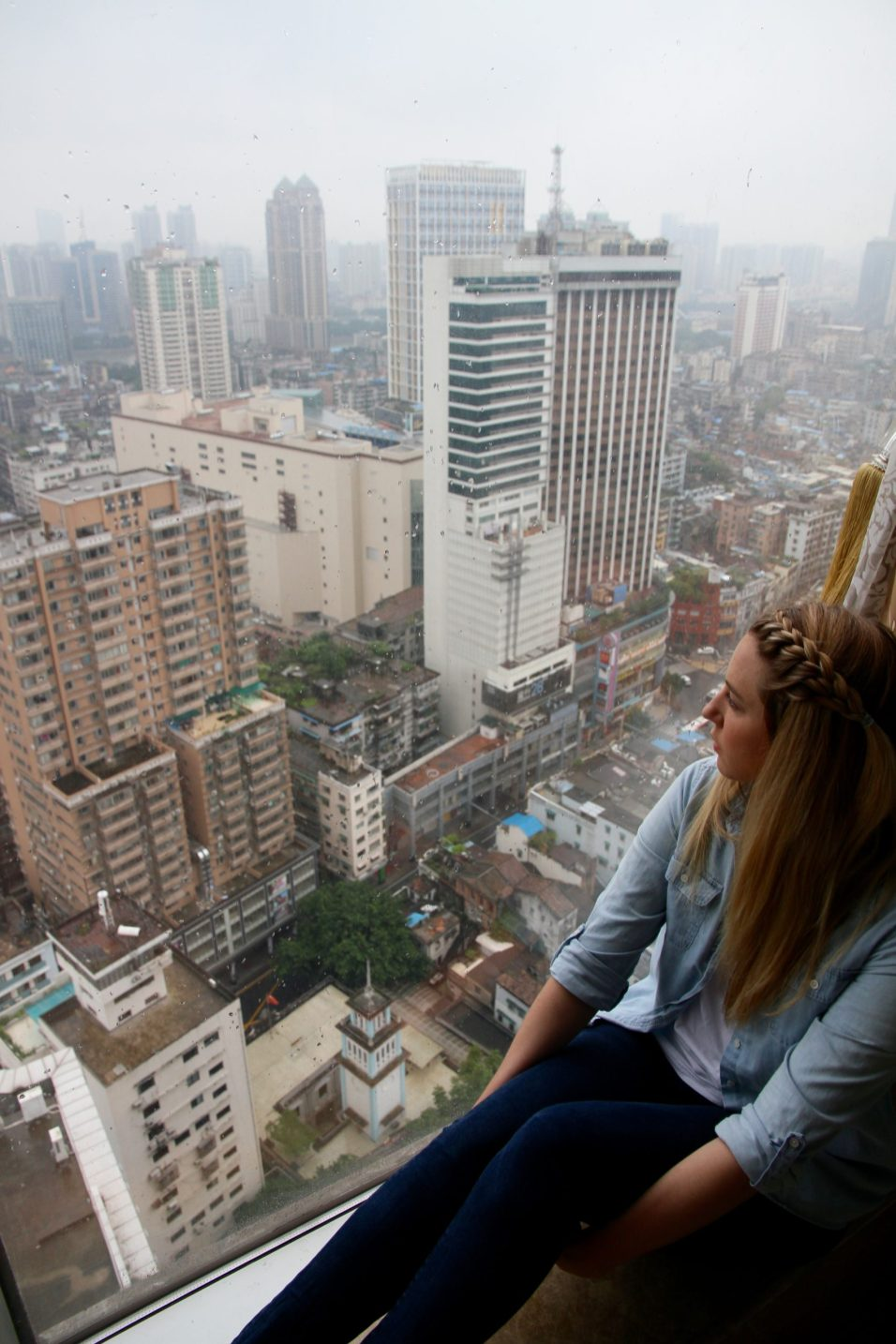 Overlooking Guangzhou