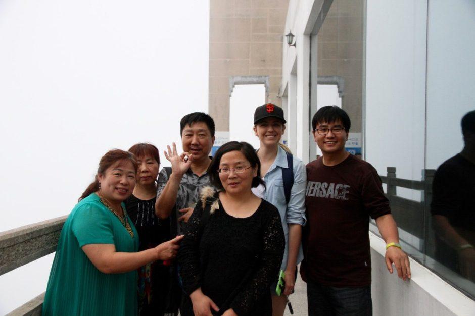 Huangshan peeps