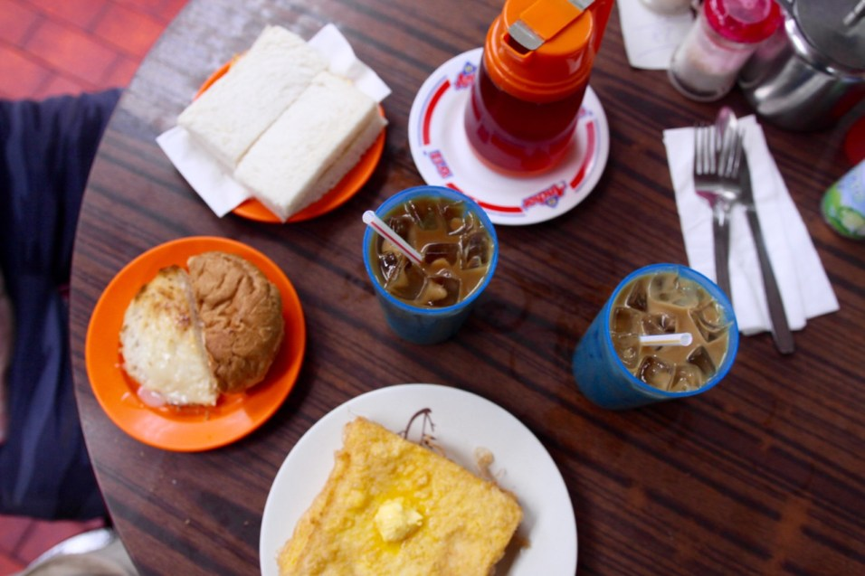 Lan Fong Yuen breakfast