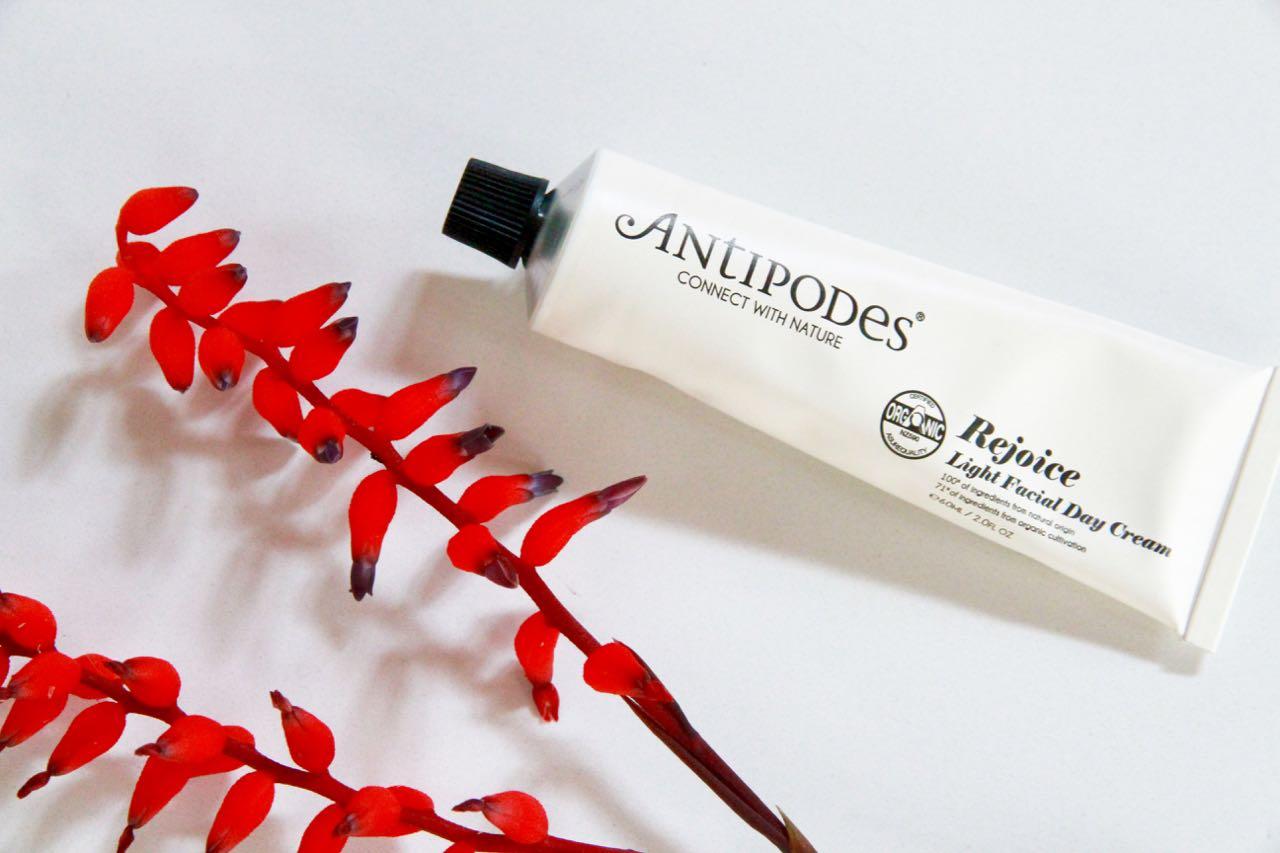 Rejoice Light Facial Day Cream Antipodes Saviour Skin Balm travel blog beauty essentials Antipodes