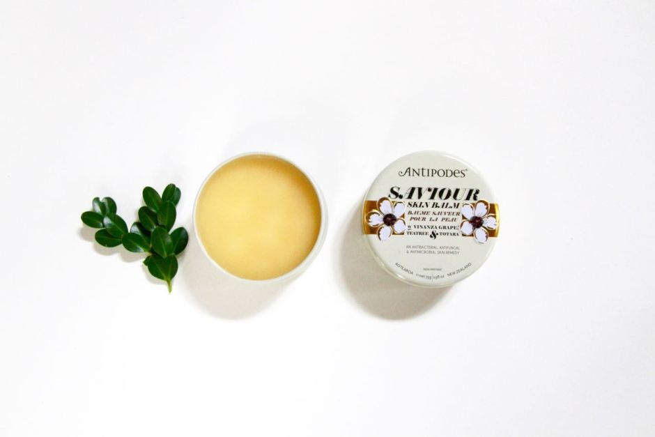 Antipodes Saviour Skin Balm travel blog beauty essentials