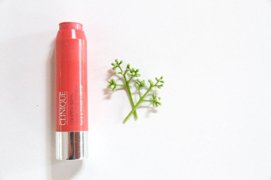 Clinique Chubby Stick cheek colour balm travel beauty essentials favourites travel blog