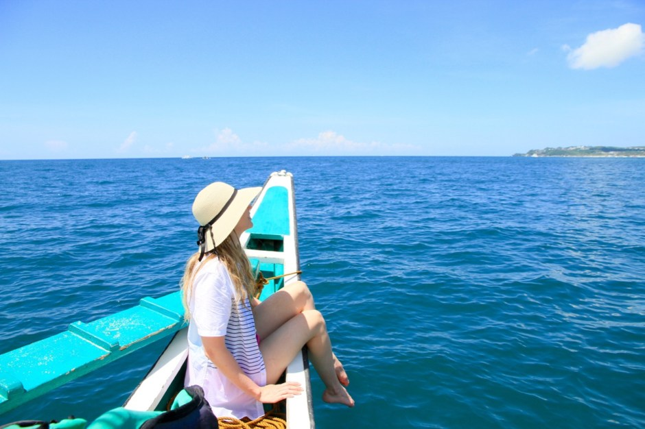 Paraw Sailing Local Paraw Boat Crystal Cove Island Travel Diary Boracay Philippines Phoebe Lee Travel Blogger