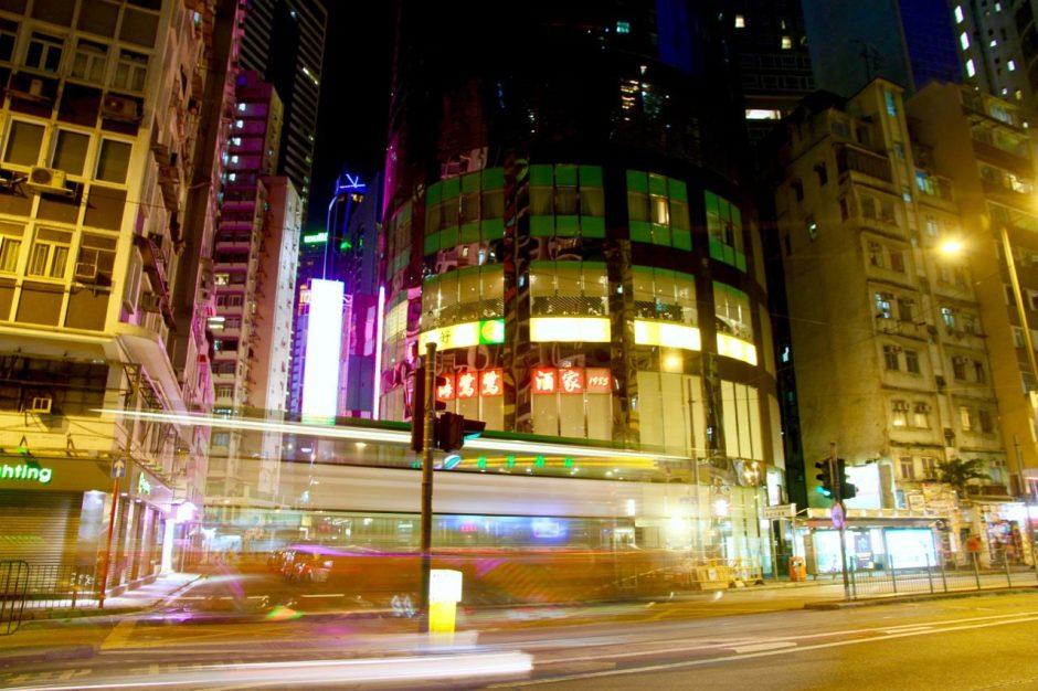 Street at night 47 Things to do in Hong Kong Travel Blog