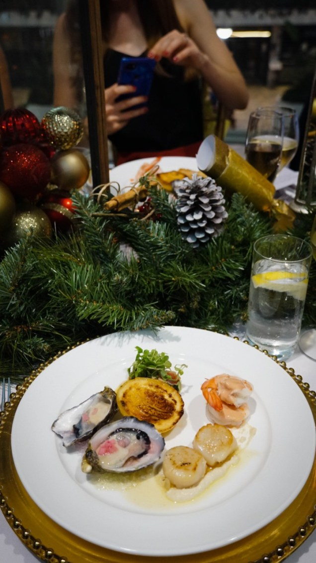 Brisbane Airport Christmas Dinner Food - 25