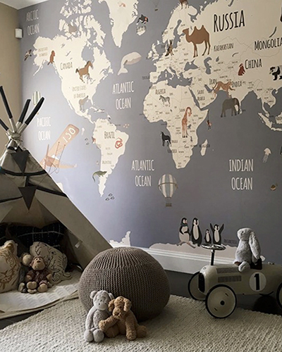 LH – World Map Explorers Room