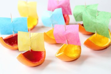 Jelly Boats with Colourful Sails