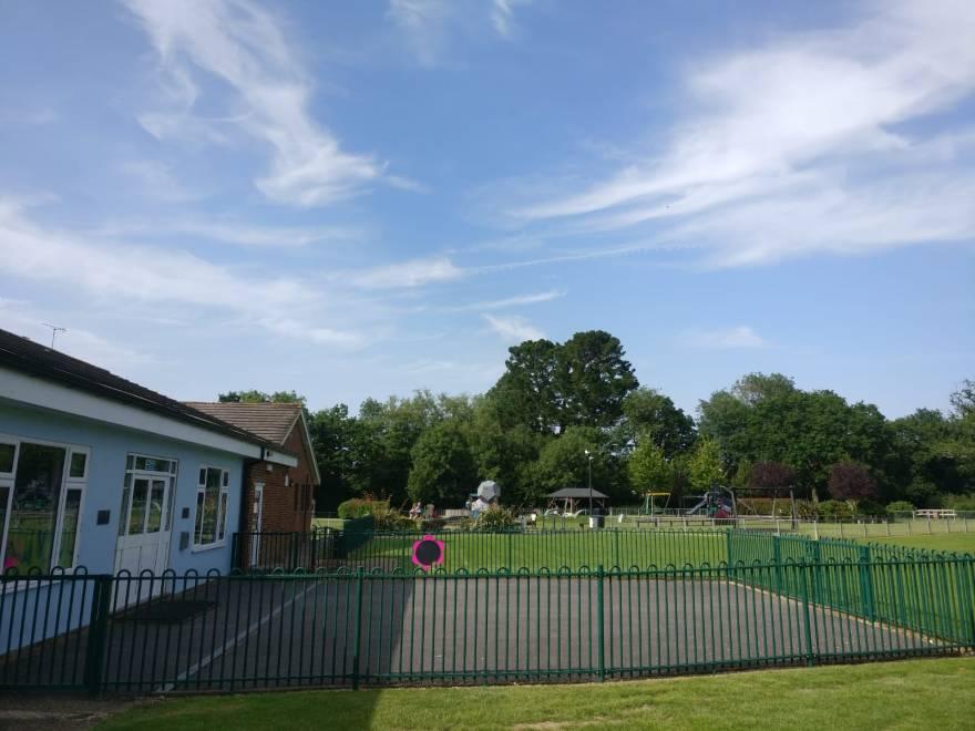 Pre School in Cranleigh play area