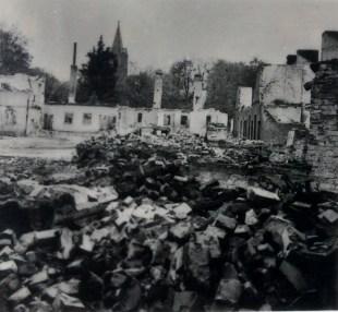 Руины польского города Румя (нем Rahmel), блиг Гдыни (нем.Готенхафен)