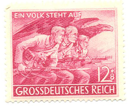 «Создание народных отрядов Volkssturm»