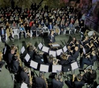Симфонический оркестр в пещере