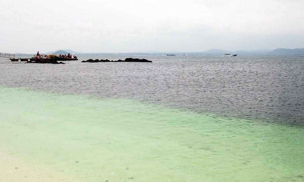 Udo Island - Seobin Baeksa white sand beach