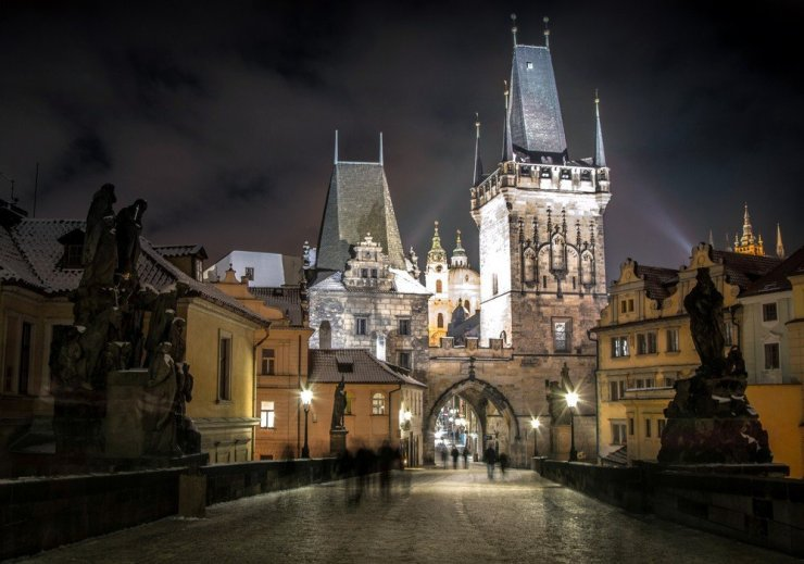 For a romantic stay, look at best hotels in Prague's Lesser Town or Mala strana.