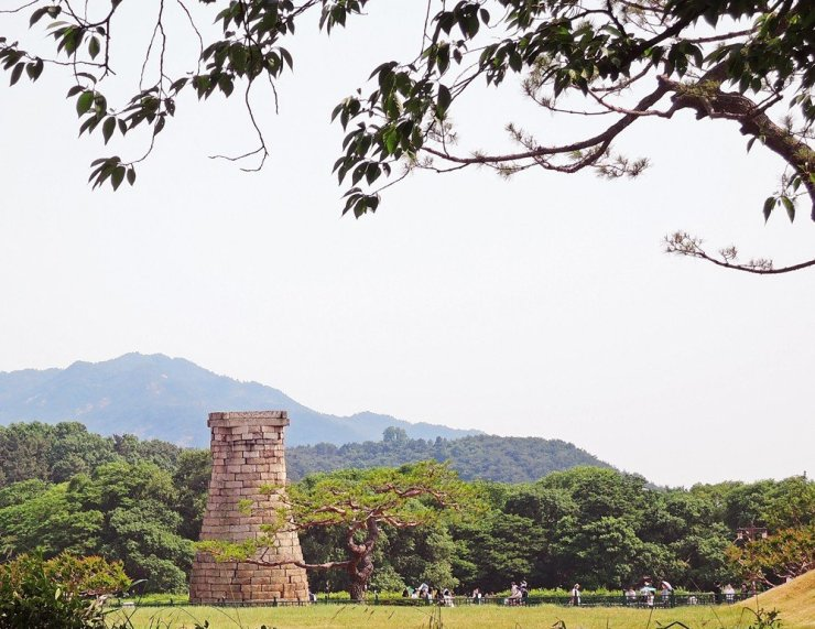 Cheomseongdae in Gyeongjung, South Korea is the oldest surviving astronomical observatory in Asia.