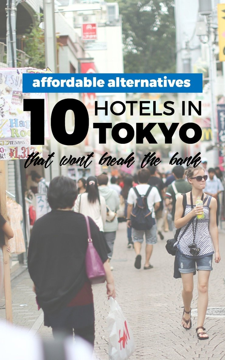 Cheap doesn't have to be lousy. These 10 affordable but comfortable and convenient hotels in Tokyo will let you explore the city with style. Save this for your dream trip to Japan!