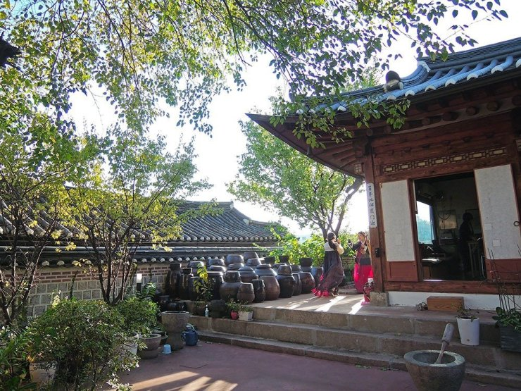 Things to do in Seoul - explore Bukchon Hanok Village and try wearing the hanbok