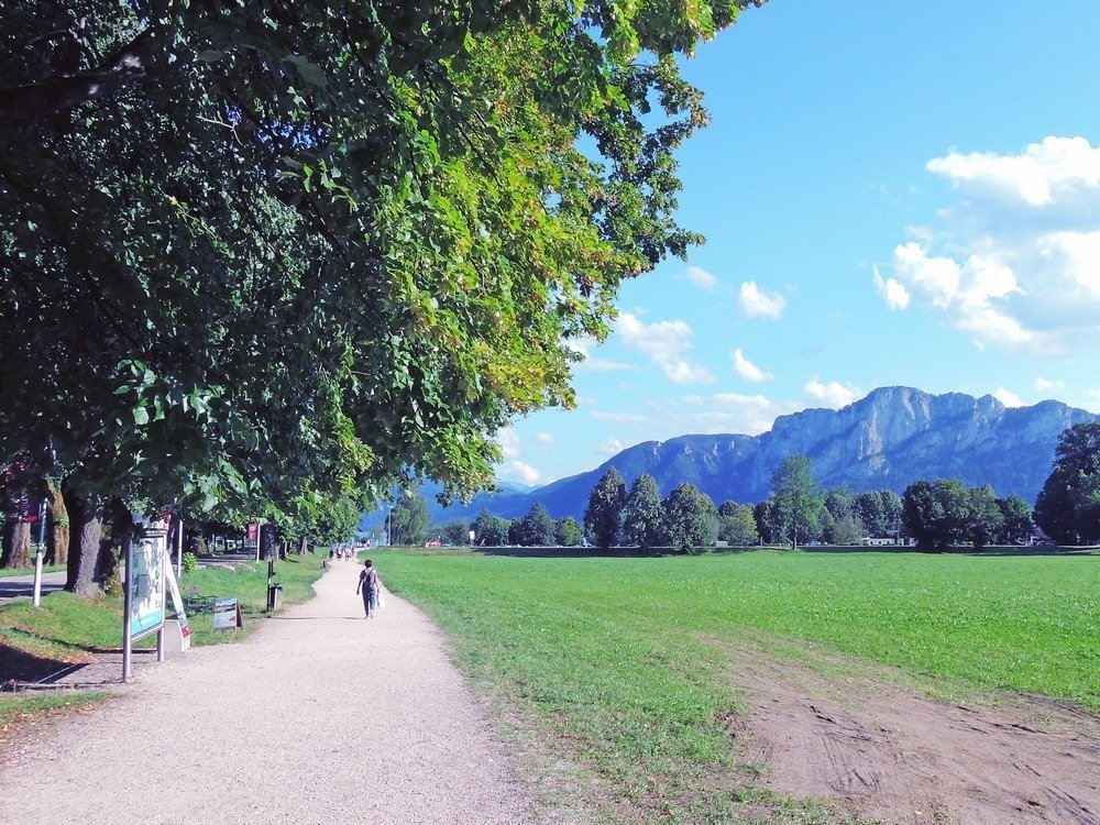 Mondsee is one of the best day trips from Salzburg. Take a drive outside the city and into Salzkammergut and see what Austria's countryside has to offer. Swim, sail, and enjoy amazing views with this itinerary and travel guide to Salzburg and Salzkammergut.