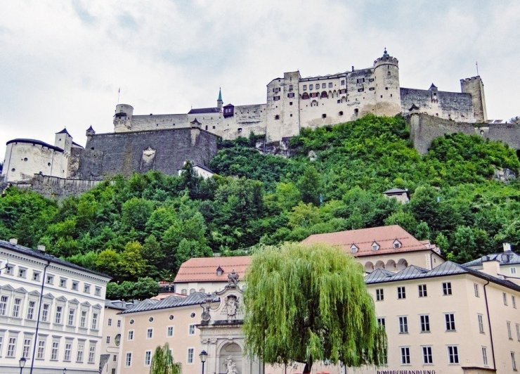 Ride up the funicular to the Fortress Hohensalzburg, one of the largest fortifications in Europe and now one of Salzburg's top sights. Enjoy breathtaking views, and, if you're feeling fancy, a Mozart concert and dinner treat.