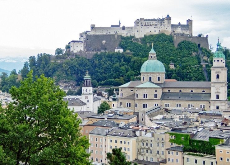 3 days in Salzburg - Go up Salzburg's Kapuzinerberg for one of the best views of the beautiful baroque old town.