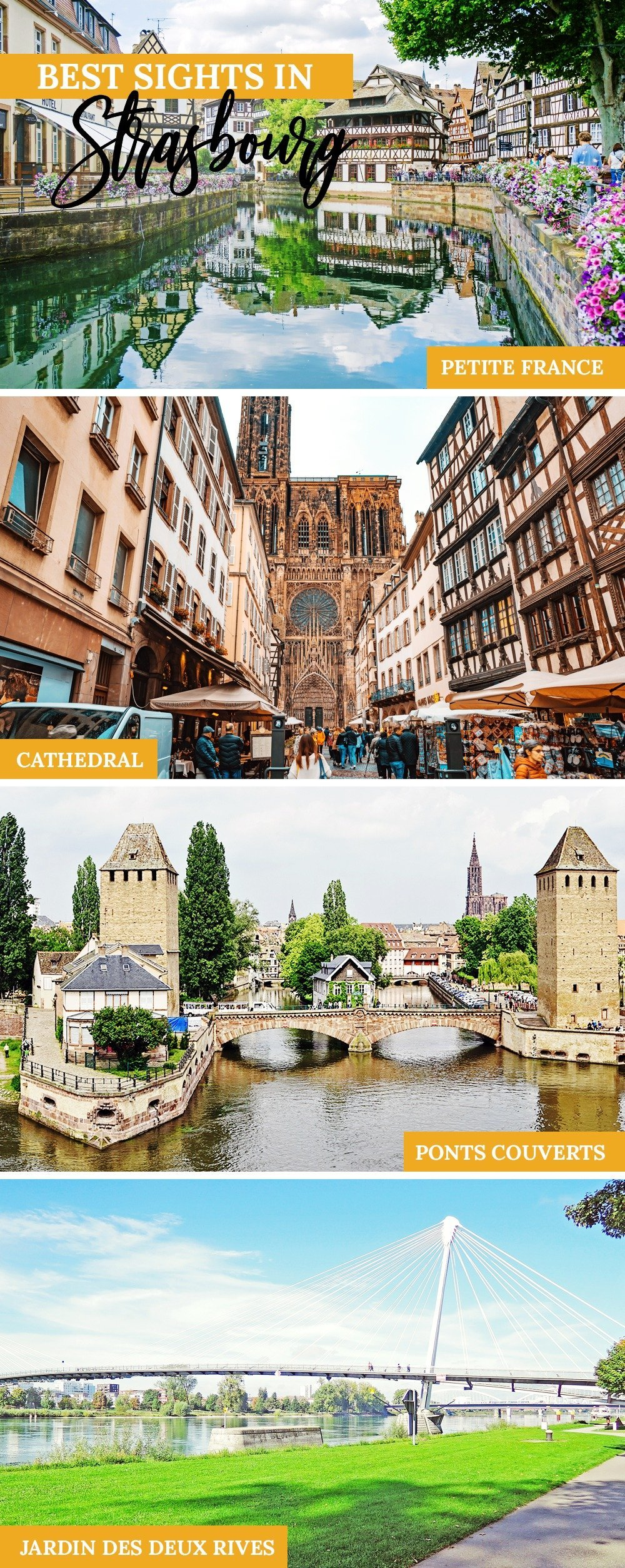 Joie de vivre meets gemütlich in this city with a French soul, German trimmings, and a whole lot of charm! If you love wine, storybook houses, and great food, you'll love Strasbourg. Here's your itinerary and travel guide to Strasbourg!