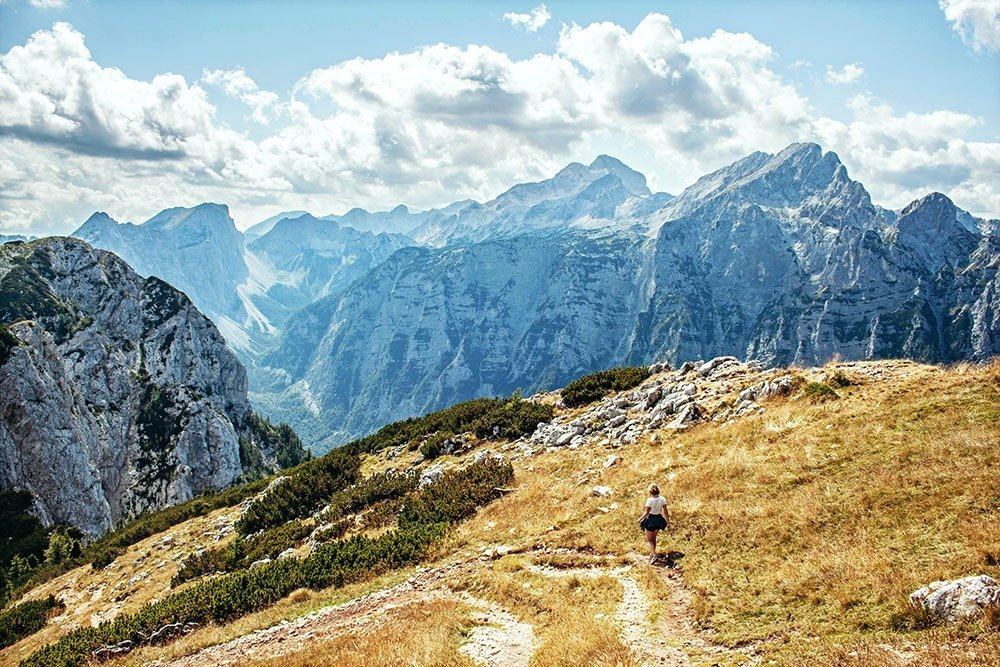 5 days in Slovenia – take a day or two to explore Triglav National Park. Go for a challenging hike to the Triglav Peak or walk the short and easy Goreljek bog nature trail. You'll find plenty of lakes to relax in as well as lovely hamlets and quiet villages around the park.