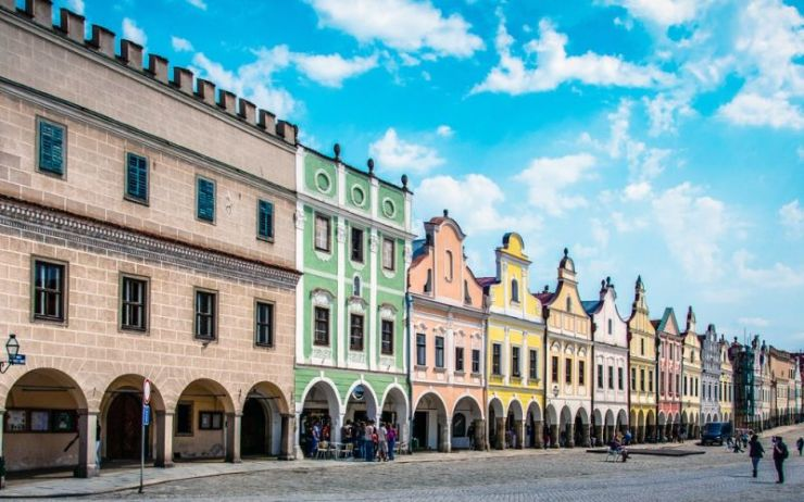 Next comes Telc, with one of the Czech Republic's most beautiful squares. The rest of the town is just as charming.