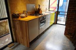 A new kitchen