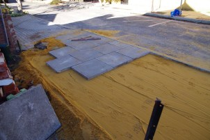 Looking good - relaying concrete tiles