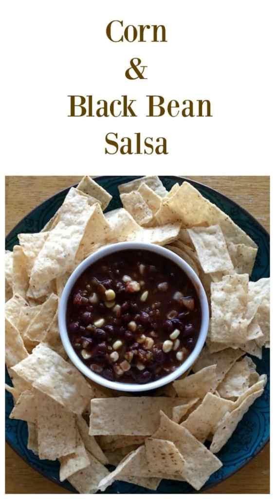 Corn and Black Bean Salsa collage
