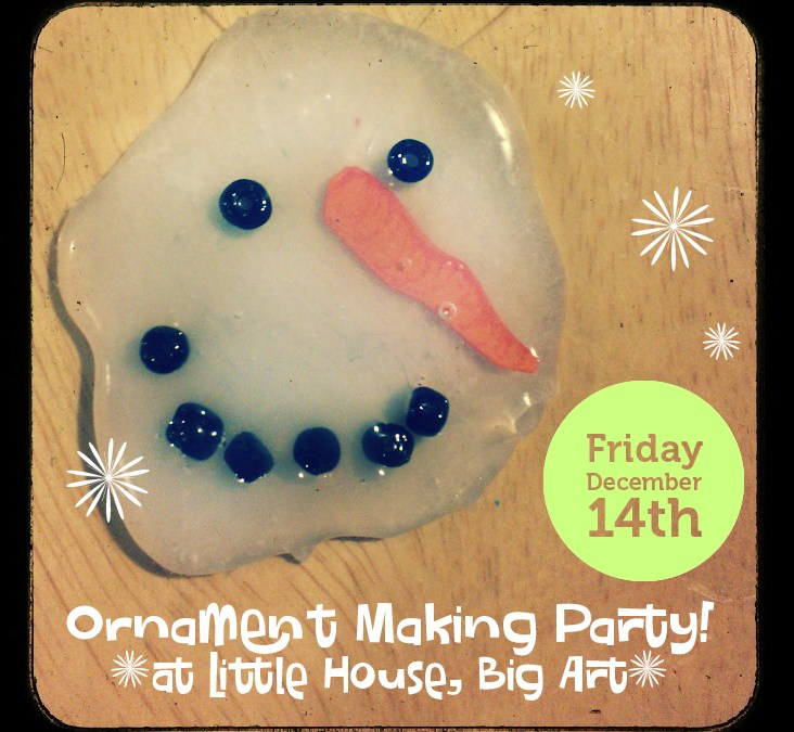 Winter Ornament Making Party