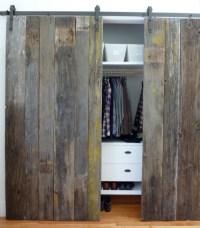 What to do with my closet doors?   littlehousebigplans